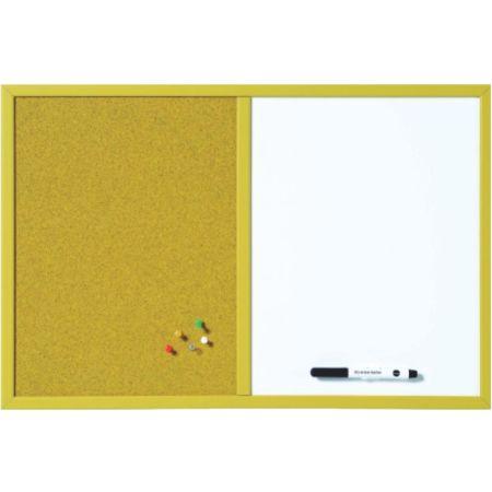Pizarra Combo Amarillo 60 x 40 cm