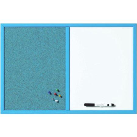 Pizarra Combo Azul 60 x 40 cm