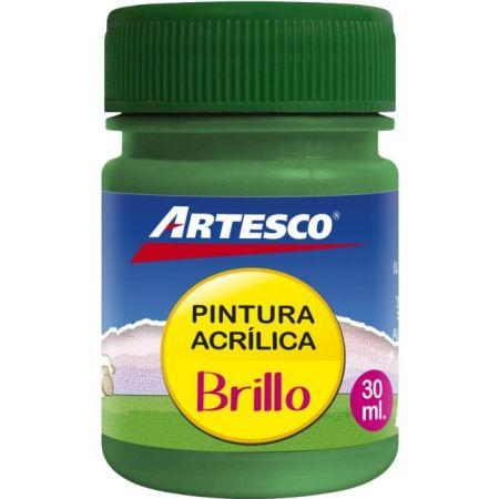 Pintura Acrílica Brillante Verde x 30 ml
