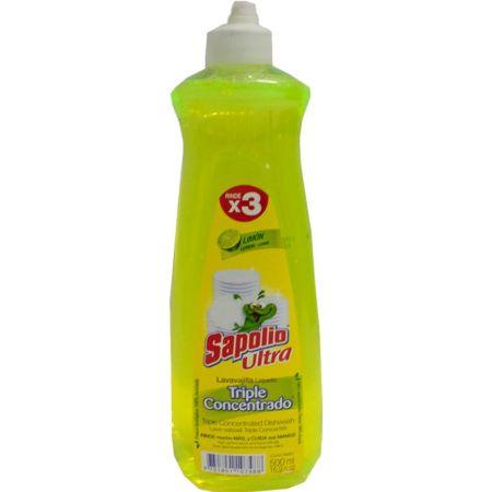 Lavavajillas Líquido Limón Frasco x 500 ml