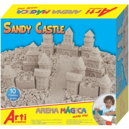 Arena Mágica Sandy Castle Caja x 600 g