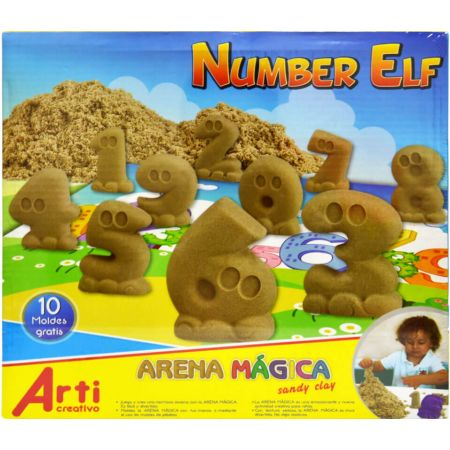 Arena Mágica Number Elf Caja x 600 g