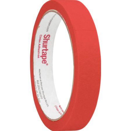 Cinta Masking Tape 3/4 x 15 yd Rojo