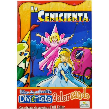Cuento La Cenicienta para Colorear