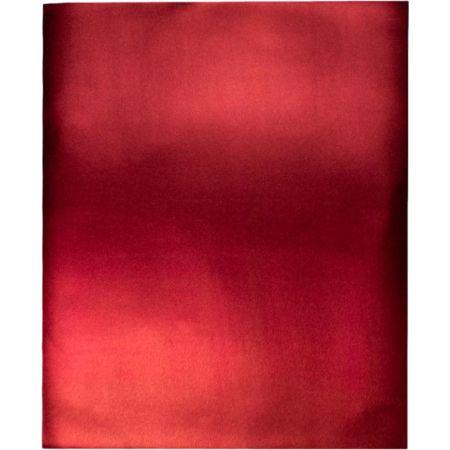 Goma Eva 50 cm x 70 cm Metálico Rojo x 1 Pliego