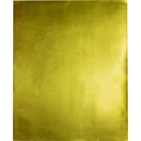 Goma Eva 50 cm x 70 cm Metálico Dorado x 1 Pliego