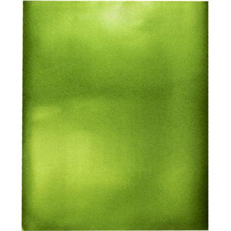 Goma Eva 50 cm x 70 cm Metálico Verde x 1 Pliego