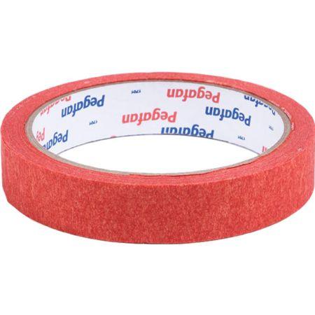 Cinta Masking Tape 3/4 in x 20 yd Rojo