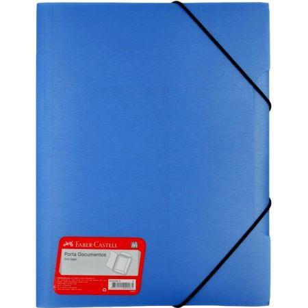 Carpeta con Liga A4 Azul