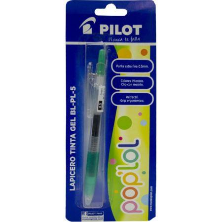 Lapicero Pop Lol BL-PL-5 Verde Blister x 1 Unidad