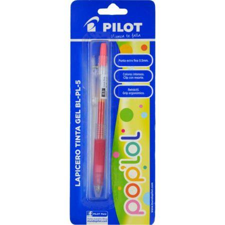 Lapicero Pop Lol BL-PL-5 Rosado Metálico Blister x 1 Unidad
