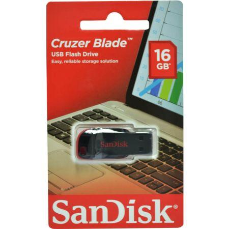 Memoria USB 16GB Cruzer Blade SDCZ50 Negro