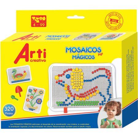 Juego de Construcción Mosaicos Mágicos Caja x 320 Piezas
