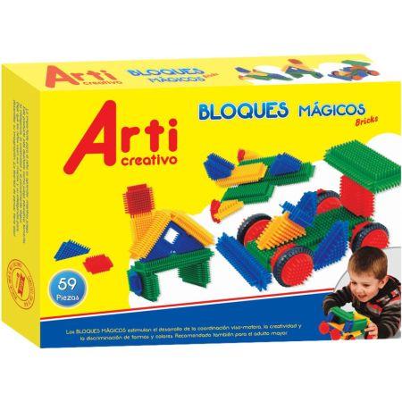 Bloques Mágicos Bricks x 59 Piezas