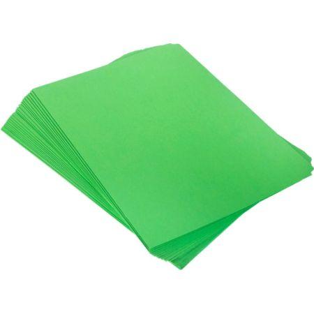 Folder Manila A4 Verde Paquete x 25 Unidades