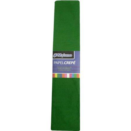 Papel Crepé Fantasía Verde x 1 Pliego