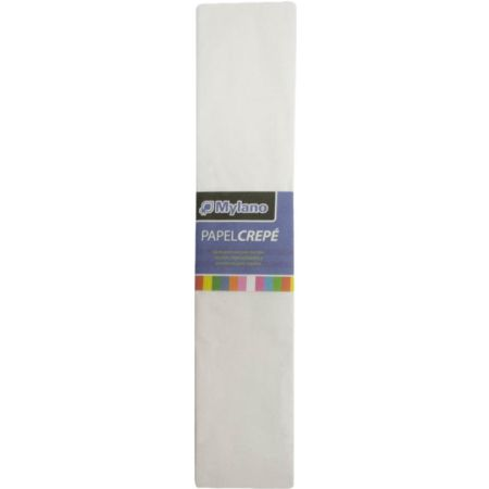 Papel Crepé Blanco x 1 Pliego