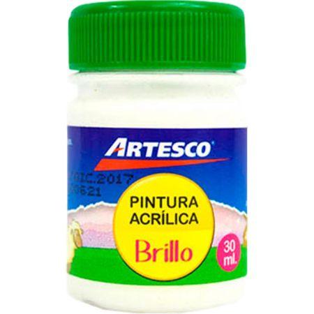 Pintura Acrílica Brillante Blanco x 30 ml