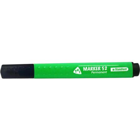 Plumón Indeleble Marker 52 Verde Blister x 1 Unidad