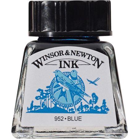 Tinta China Azul Frasco x 14 ml