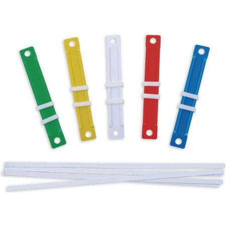 Fastener Plástico Colores Surtidos Caja x 50 Unidades