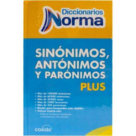 Diccionario Tapa Dura de Sinónimos y Antónimos Plus