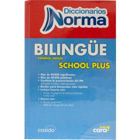 Diccionario Tapa Dura Bilingüe Inglés - Español Plus