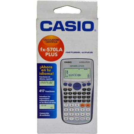 Calculadora Científica FX-570 LA PLUS