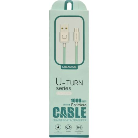 Cable Micro USB para Android US-SJ098 Verde