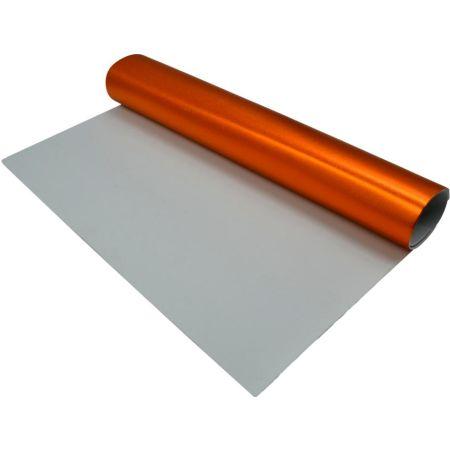 Goma Eva Metálico Naranja 50 x 70 cm