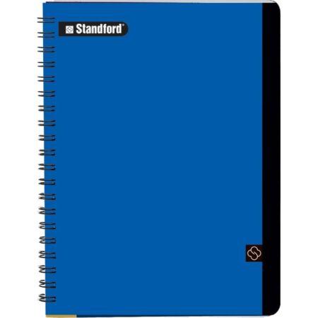 Cuaderno Premium Cuadriculado A4 Anillado Azul x 100 Hojas