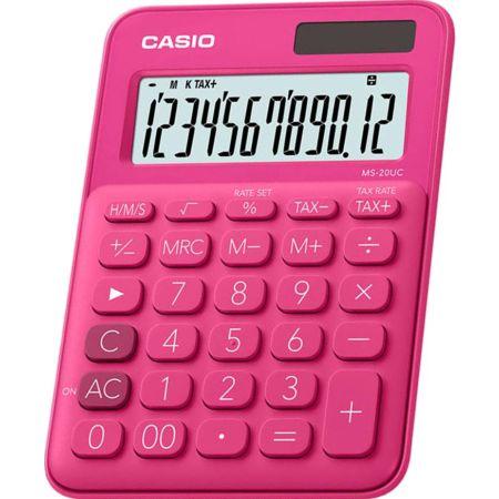 Calculadora Escolar Ms-20UC 12 Dígitos Fucsia