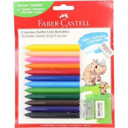 Crayones Grip Jumbo Caja x 12 Unidades