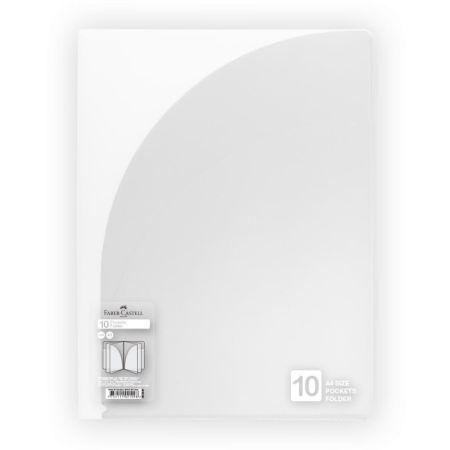 Folder con 10 Bolsillos A4 Gris