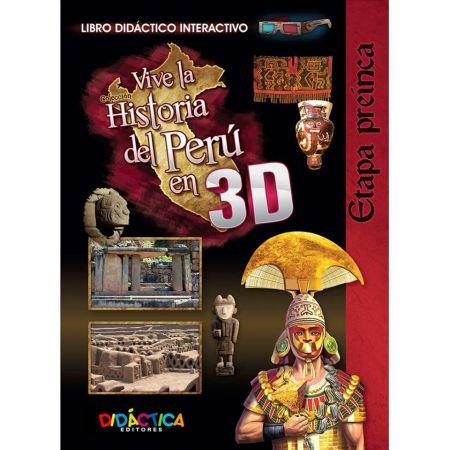 Historia 3D Etapa Pre - Inca