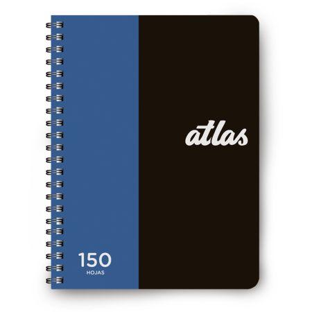 Cuaderno Cuadriculado A5 Anillado Turquesa x 150 Hojas