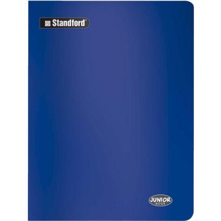Cuaderno Junior Book Cuadriculado Azul A4 Grapado x 80 Hojas