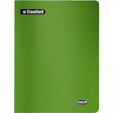 Cuaderno Junior Book Cuadriculado Verde A4 Grapado x 80 Hojas