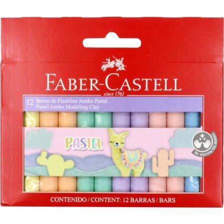 Plastilina Jumbo Caja x 12 Unidades Pastel