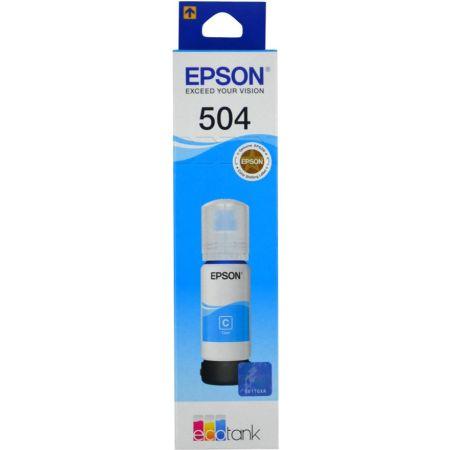 Tinta para Impresora en Botella 504 Cyan