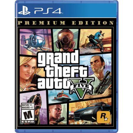 PS4 Juego Grand Theft Auto V Premium Edition LATAM