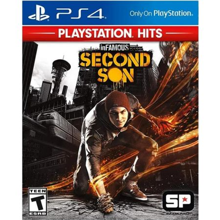 PS4 Juego Infamous: Second Son - PlayStation Hits LATAM