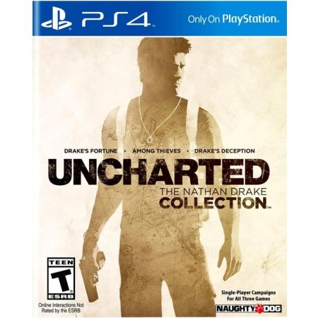 PS4 Juego Uncharted: The Nathan Drake Collection LATAM