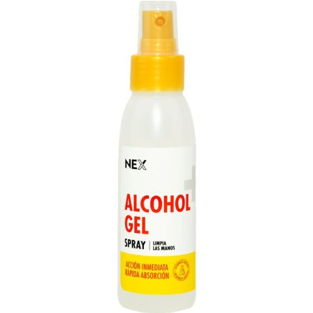 Alcohol en Gel Spray Frasco x 100 ml