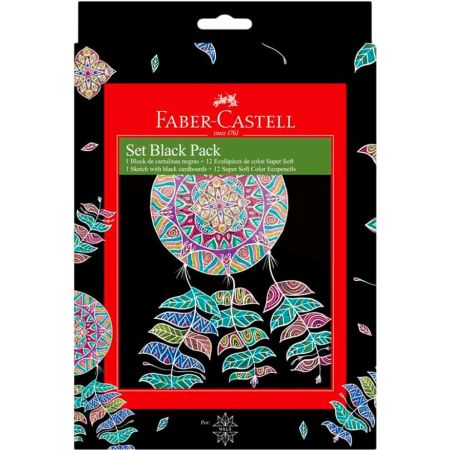 Set Black Pack Nala y Colores Supersoft x12
