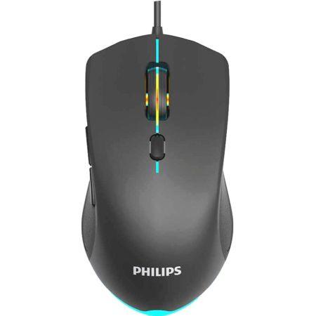 Mouse Gamer Alambrico Negro SPK9404