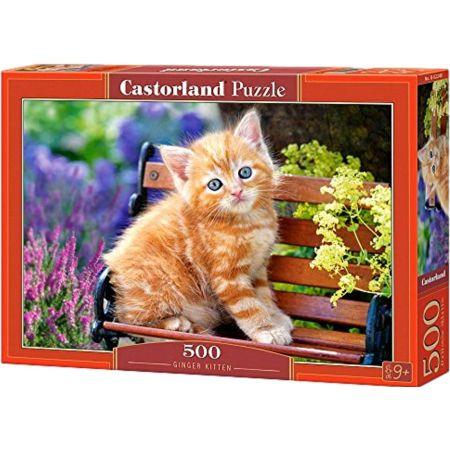 Rompecabeza x 500 Piezas Ginger Kitten