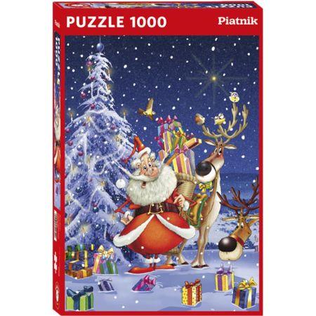 Rompecabeza x 1000 Piezas Feliz Santa