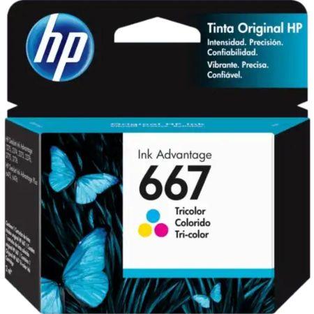 Tinta para Impresora en Cartucho 667 Tricolor