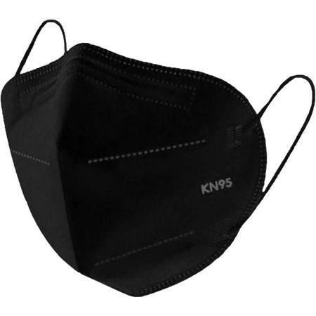 Mascarilla KN95 Negra Caja x 10 Unidades